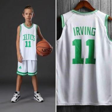 Детская баскетбольная форма NBA Кайри Ирвинг Бостон Селтикс №11 белый —  NBAform.ru ff887cbffe4