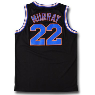 Баскетбольная майка NBA Space Jam Tune Squad  № 22 MURRAY черная SWINGMAN RETRO — NBAform.ru