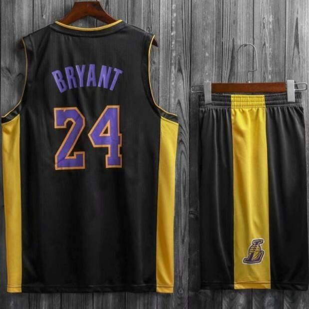 7a180bc5 Подростковая баскетбольная форма NBA Лос-Анджелес Лейкерс №24 Коби Брайант  черный альтернативный фото 1