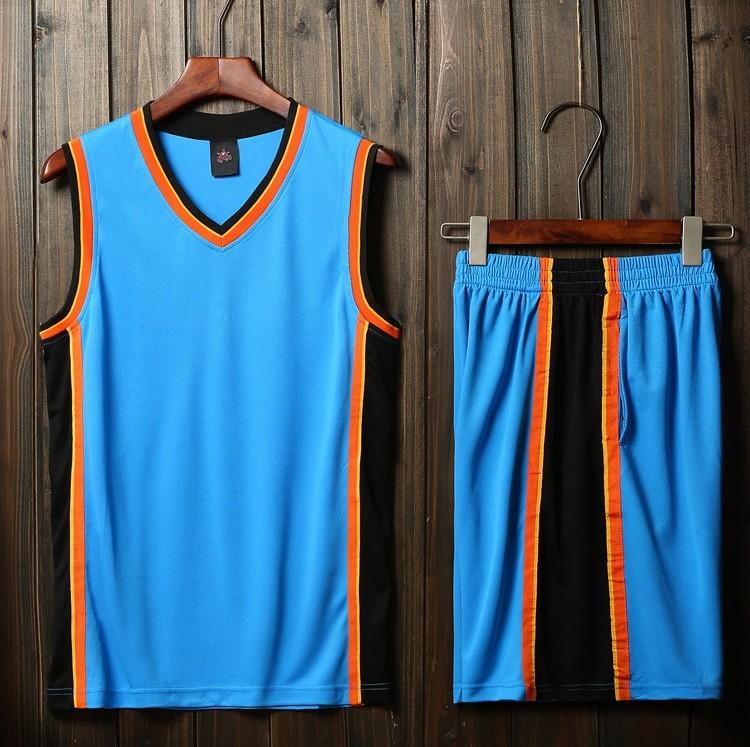 7a42aa17 Подростковая баскетбольная форма NBA Оклахома Сити Тандер (нанесение, свой  номер и фамилия) голубой