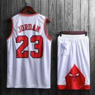 Подростковая баскетбольная форма NBA Чикаго Буллз №23 Майкл Джордан белый  домашний e2611071a08