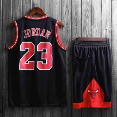 ... №23 Майкл Джордан красный гостевой. Подростковая баскетбольная форма  NBA Чикаго Буллз №23 Майкл Джордан черный альтернативный — NBAform.ru 78a5c54aade