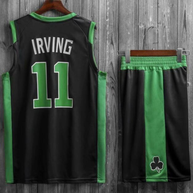Подростковая баскетбольная форма NBA Бостон Селтикс №11 Кайри Ирвинг черный 03464aac3af