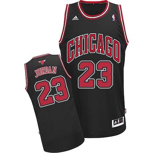 Баскетбольная майка NBA Чикаго Буллз № 23 Джордан Майкл черная SWINGMAN  RETRO 3ce1aa7f327